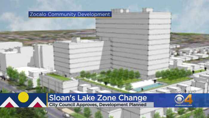 Denver City Council Approves Zoning Change In Sloan's Lake