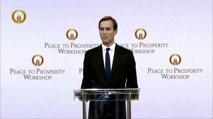 Kushner says economic plan is a necessary precondition to peace