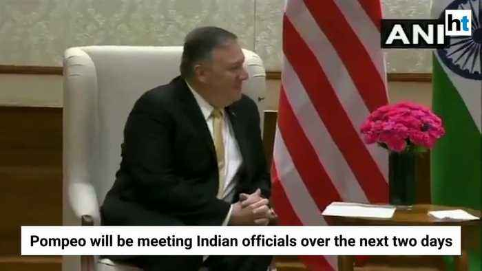 Mike Pompeo meets PM Modi, EAM S Jaishankar, Ajit Doval in New Delhi