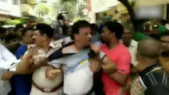 BJP MLA arrested for hitting civic officer with cricket bat in Indore
