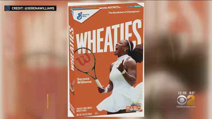Tennis Star Serena Williams To Grace Cover Of Wheaties Box