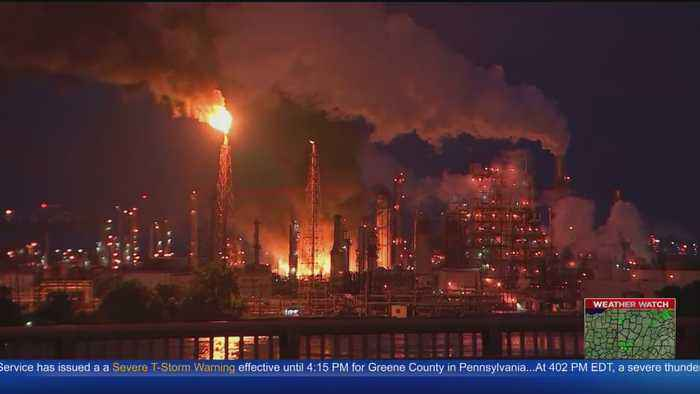 Philadelphia Oil Refinery To Close Following Fire
