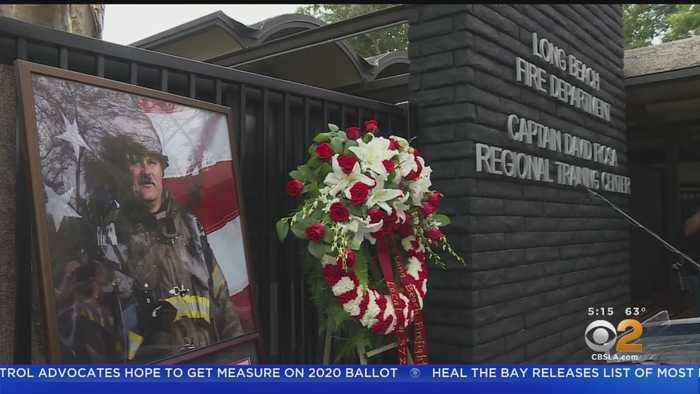 Slain Long Beach Fire Captain Honored By City