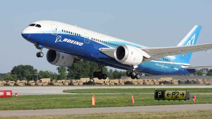 Shares of Boeing Remain Grounded