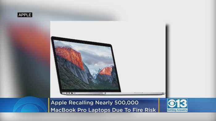 Apple Recalling Nearly A Half-Million MacBook Pro Laptops Due To Fire Risk