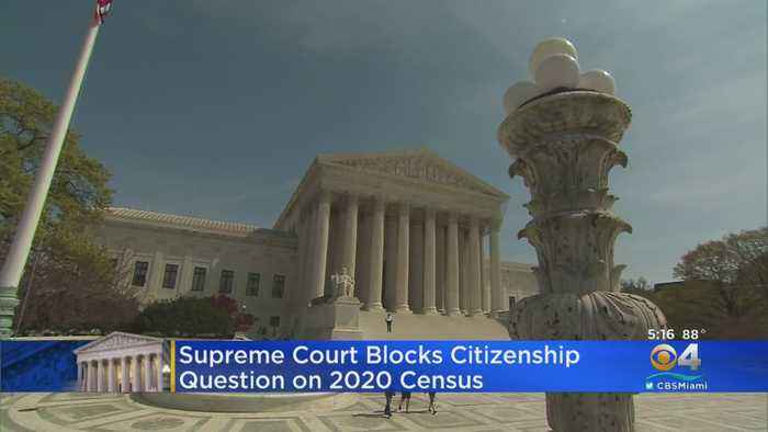 Census Citizenship Question Blocked By U.S. Supreme Court