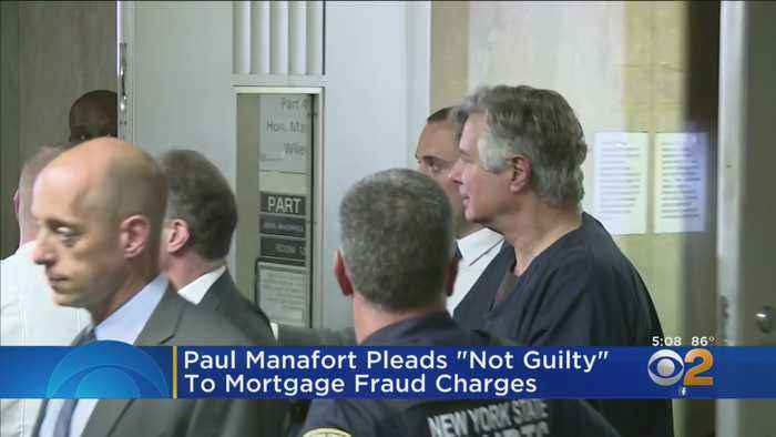 Paul Manafort Pleads Not Guilty In NYC Court