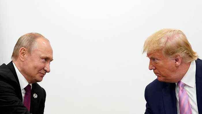 Trump gives Putin light-hearted warning: 'don't meddle in election'
