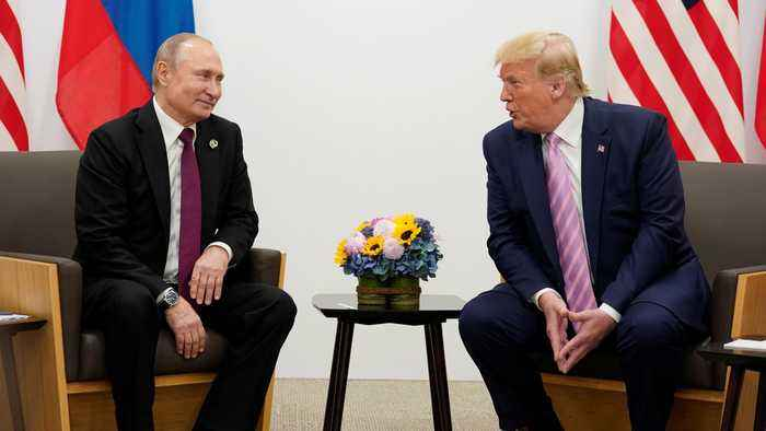 Trump tells Putin 'don't meddle' in US elections