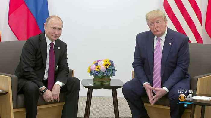 President Trump Meets With Russian President Putin During G20 Summit