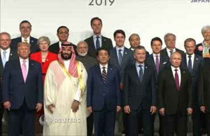 Trump and MBS, together on G20 stage