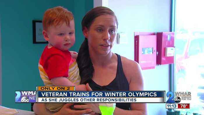 Veteran trains for winter olympics while juggling responsibilities