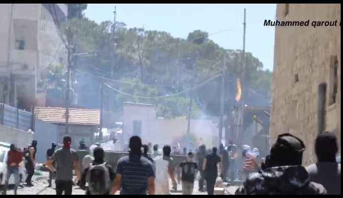 Protesters and Israeli Forces Clash in East Jerusalem After Killing of Palestinian Protester