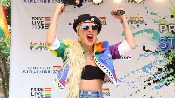 Lady Gaga Celebrates Pride With Stonewall Appearance