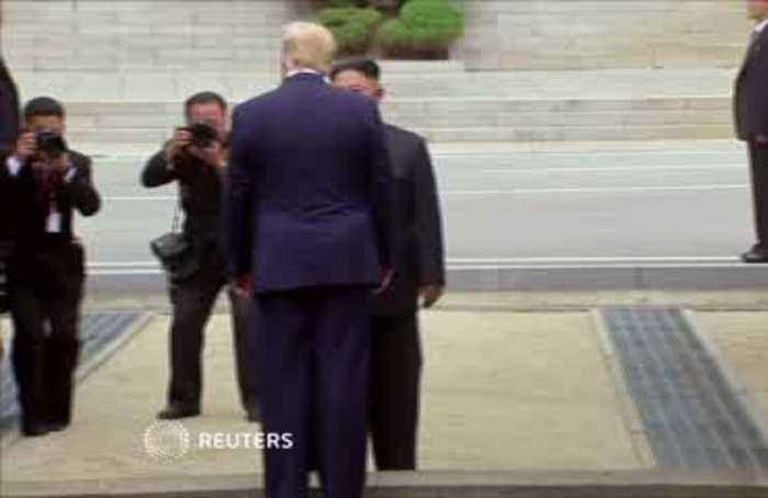 Trump and Kim to reopen talks after DMZ meeting