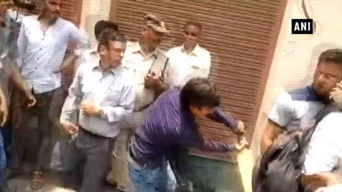 BJP MLA accused of beating civic officer released from jail