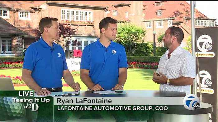 Ryan LaFontaine talks golf and the LaFontaine Automotive Group's embrace of golf in Detroit
