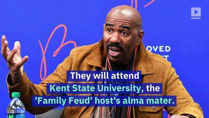 Steve Harvey Covers the Tuition for Eight College-Bound Students