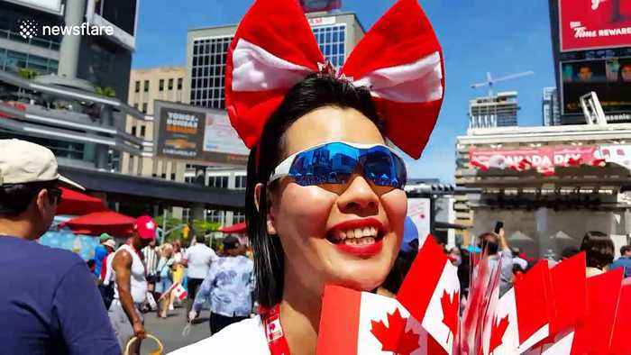 Canada Day celebrated in Toronto