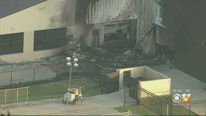 10 Dead After Plane Crash At Airport, Town Of Addison Confirms