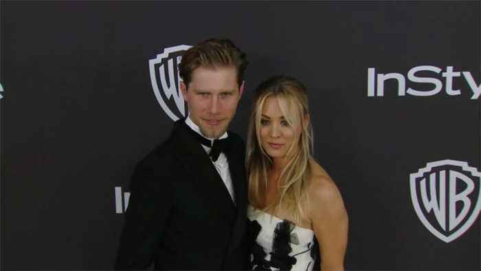 Kaley Cuoco celebrates one-year anniversary with husband Karl Cook
