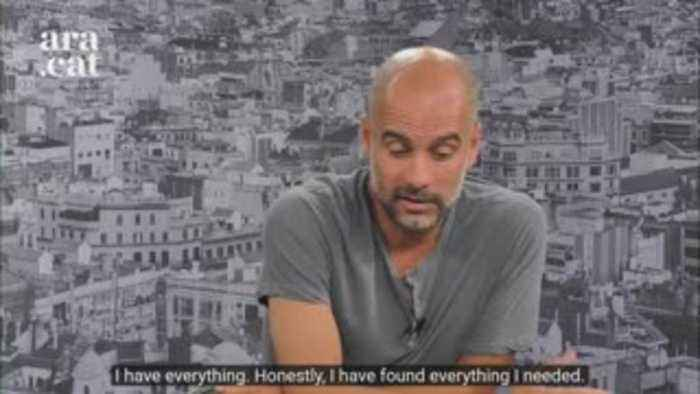 Pep: I have everything I need at City