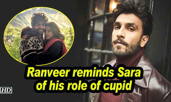 Ranveer reminds Sara of his role of cupid