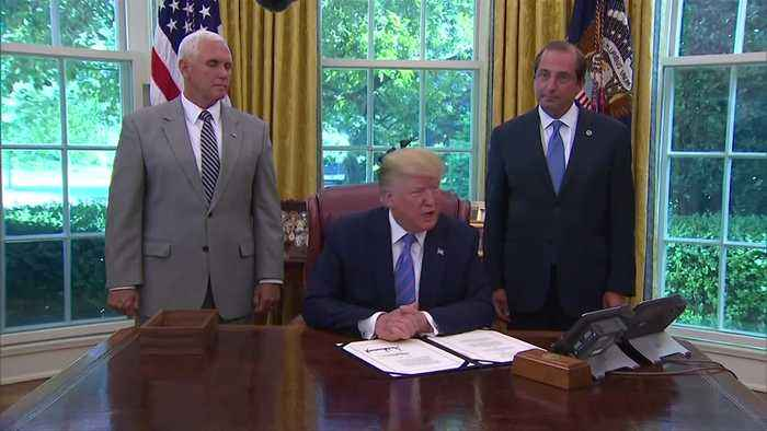 Trump signs multibillion dollar border bill