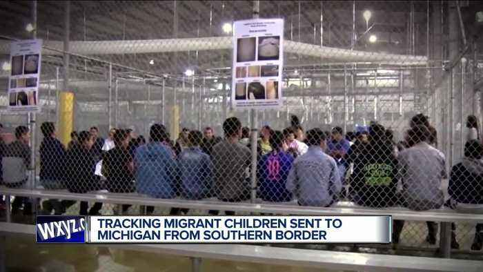 Tracking Migrant children sent to Michigan from southern border