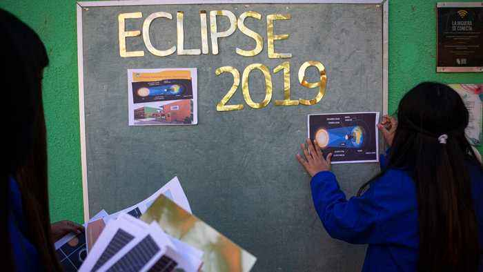 Total solar eclipse 2019: Tourists flock to Chile to see sight