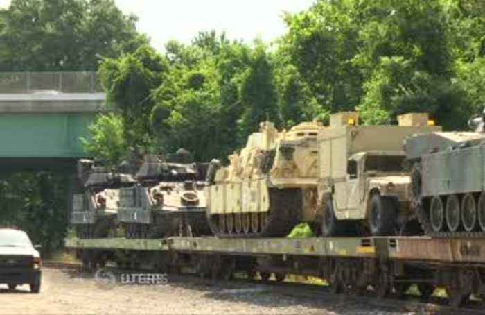 Trump's July 4th tanks ready to roll