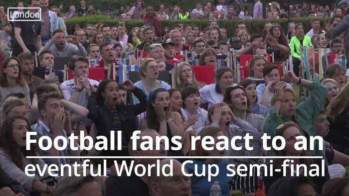 Football fans react to ups and downs of England Women's World Cup semi-final defeat