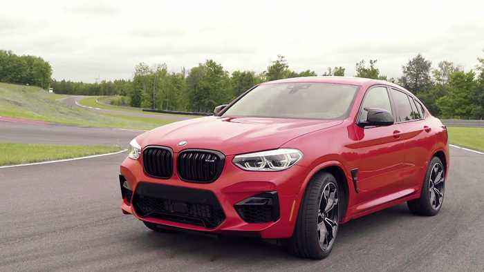 The new BMW X4 M Exterior Design in New York, USA