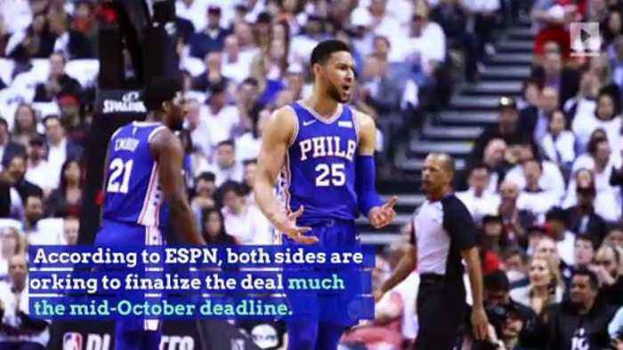 Ben Simmons to Sign Max Deal With 76ers