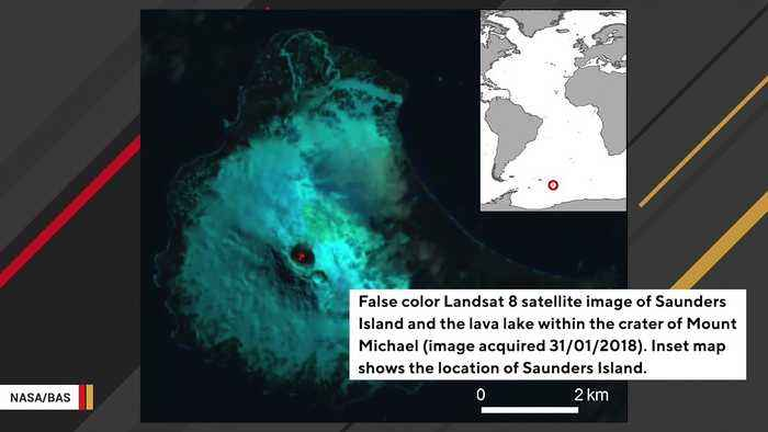 A Rare Lava Lake Has Been Discovered On Inaccessible Sub-Antarctic Island
