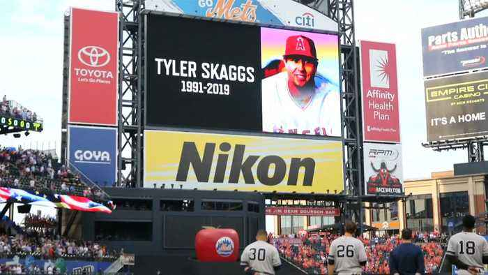 LA Angels discuss tragic death of Tyler Skaggs