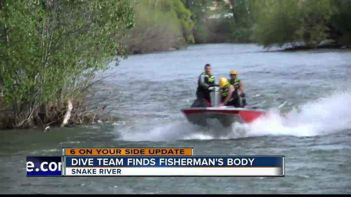 Dive team finds missing fisherman's body in the Snake River