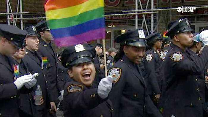 New York's LGBTQ Group GOAL Proudly Patrolling
