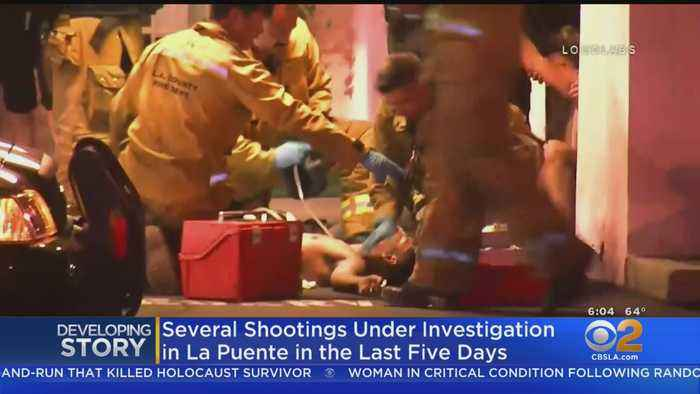 2 Men Shot In Latest La Puente Shooting