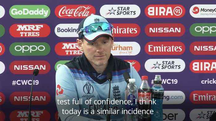 Eoin Morgan reflects on 'pretty cool' feeling as England reach World Cup semi-finals