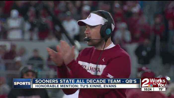 KJRH Sports Sooners State All-Decade Team - QB's