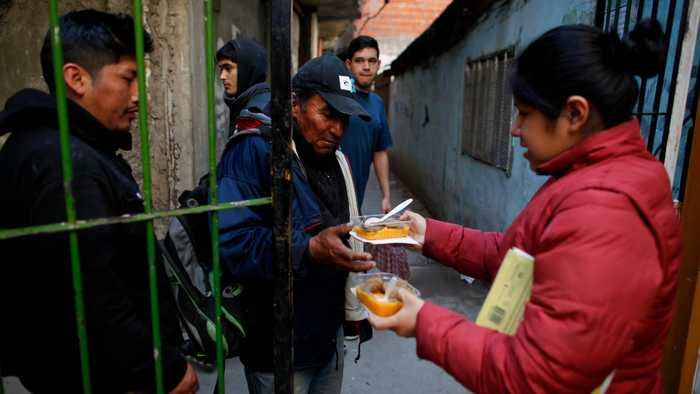 Argentina poverty on the rise despite president promises