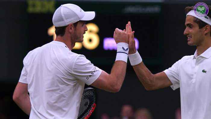 Wimbledon day four: Murray returns to SW19