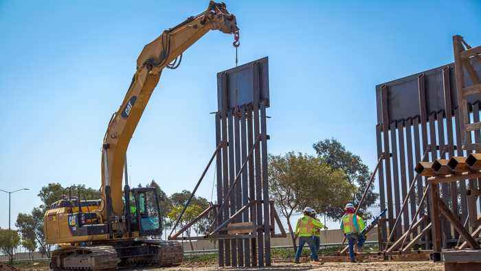 What's The Status Of Wall Construction Along The U.S.-Mexico Border?