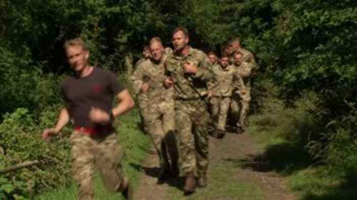 Accrington tested at army boot camp