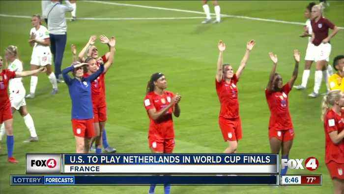 USA women's team set to play Netherlands in World Cup Final Sunday
