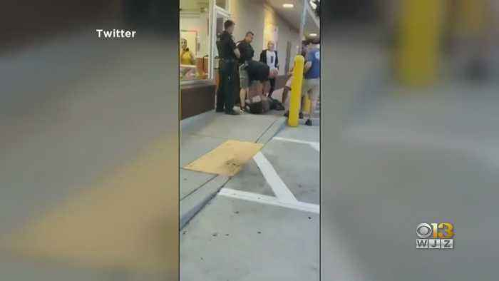 Montgomery Co. Officer Seen On Video Slamming Suspect's Head Into The Ground Taken Off The Street