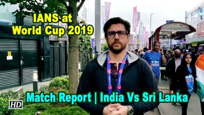 IANS at World Cup | Match Report | India Vs Sri Lanka