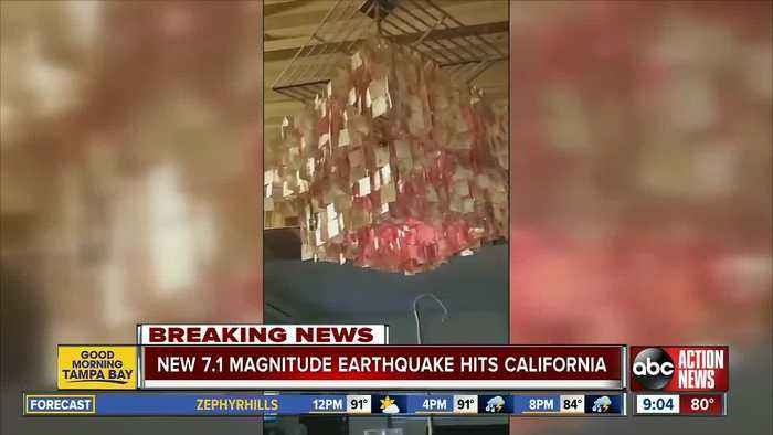 A second earthquake hit Southern California in as many days. It's five times bigger than Thursday's