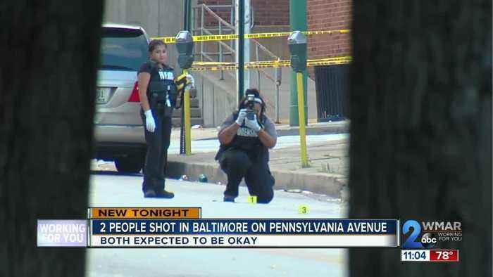 2 People shot in Baltimore on Pennsylvania Ave